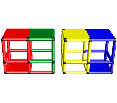 Дополнительный набор для стандартной 165x45x65 подводной скамейки